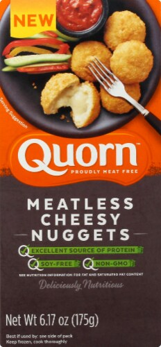 Quorn Meatless Cheesy Nuggets Perspective: front