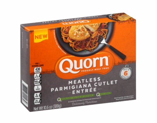 Quorn Meatless Parimigiana Cutlet Entree Perspective: front