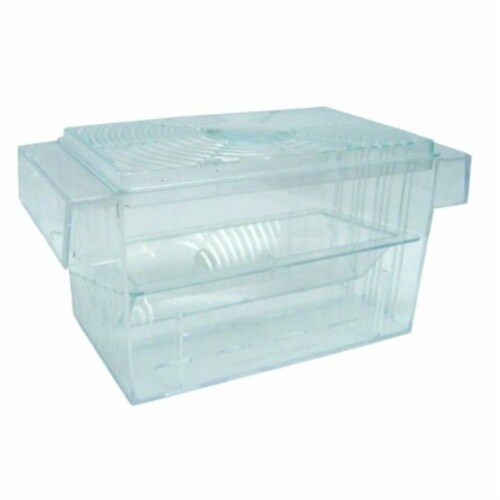 H002 Brand New Fish hatchery Tank Size 6.5L�x3W�x3.5H� Perspective: front