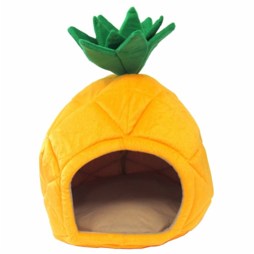 Pineapple Pet Bed house, Large Perspective: front