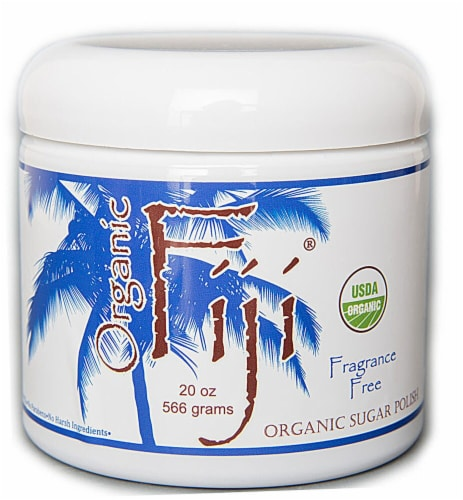Organic Fiji  Body Polish Fragrance Free Perspective: front