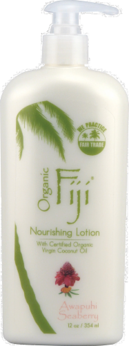 Organic Fiji Awaphi Seaberry Lotion Perspective: front
