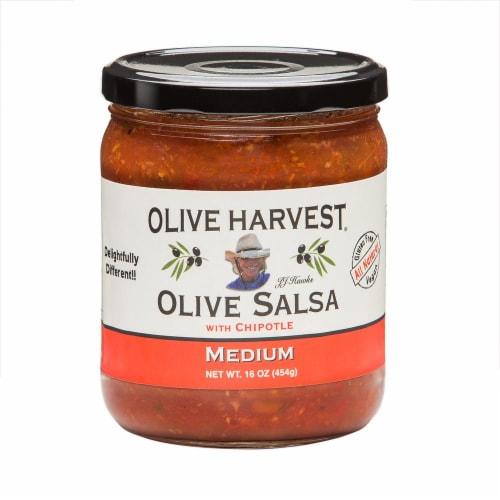 Olive Harvest Medium Olive Salsa Perspective: front