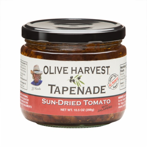 Olive Harvest Sun Dried Tomato Tapenade Perspective: front