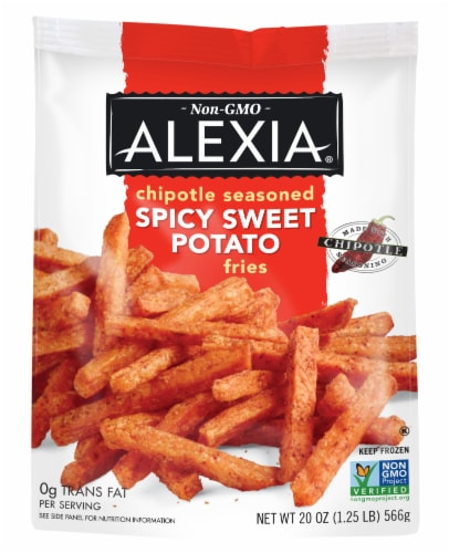 Alexia Chipotle Seasoned Spicy Sweet Potato Fries Perspective: front