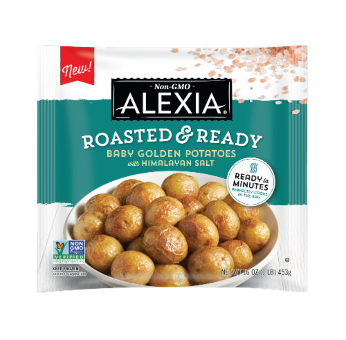 Alexia® Roasted & Ready Baby Golden Potatoes with Himalayan Salt Perspective: front