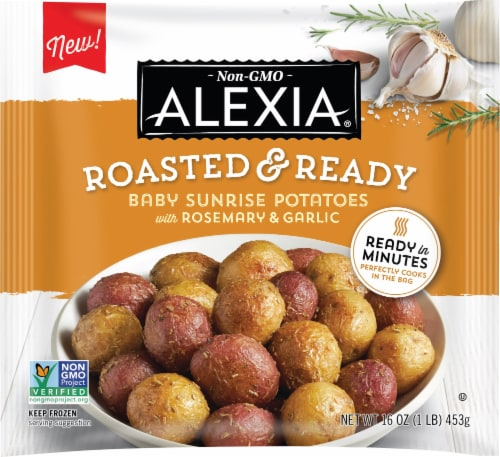Alexia® Roasted & Ready Baby Sunrise Potatoes with Rosemary & Garlic Perspective: front