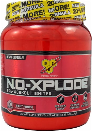 BSN  N.O.-XPLODE™   Fruit Punch Perspective: front