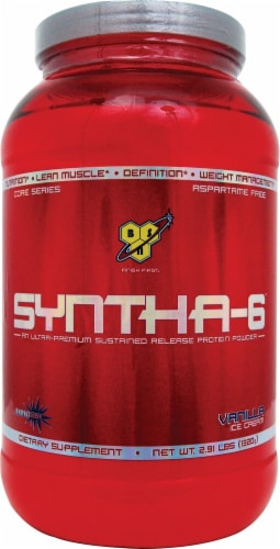 BSN  Syntha-6™ Protein Powder   Vanilla Ice Cream Perspective: front