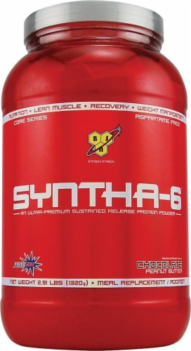 BSN  Syntha-6™ Protein Powder   Chocolate Peanut Butter Perspective: front
