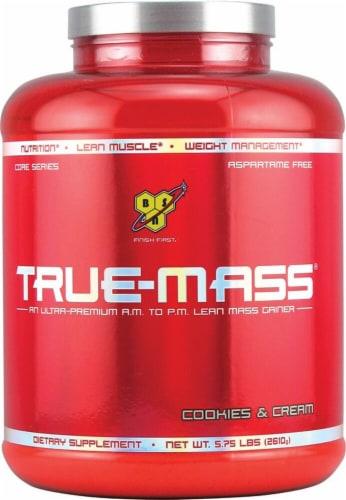 BSN  True-Mass® Gainer   Cookies & Cream Perspective: front