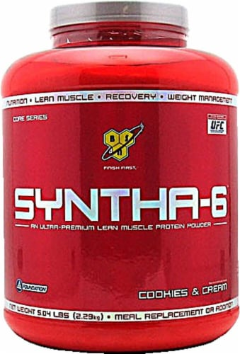 BSN  Syntha-6™ Protein Powder   Cookies & Cream Perspective: front