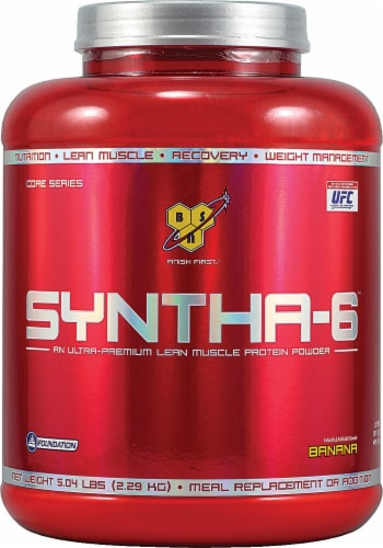 BSN  Syntha-6™ Protein Powder   Banana Perspective: front