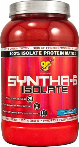 BSN  SYNTHA-6™ Isolate   Vanilla Ice Cream Perspective: front
