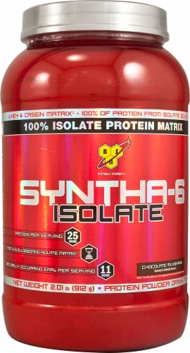 BSN  SYNTHA-6™ Isolate   Chocolate Milkshake Perspective: front