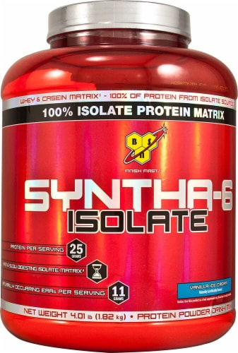 BSN  SYNTHA-6™ Isolate   Vanilla Perspective: front