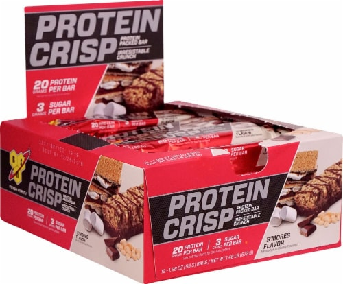 BSN  Syntha-6® Protein Crisp Bar   S'Mores Perspective: front
