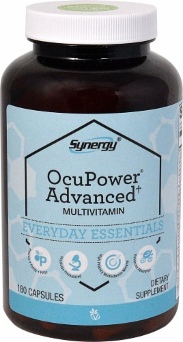 Vitacost Synergy OcuPower® Advanced† MultiVitamin Perspective: front