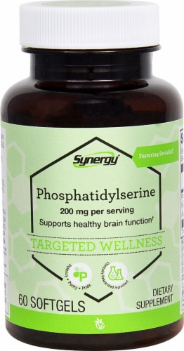 Vitacost Synergy Phosphatidylserine Softgels Perspective: front