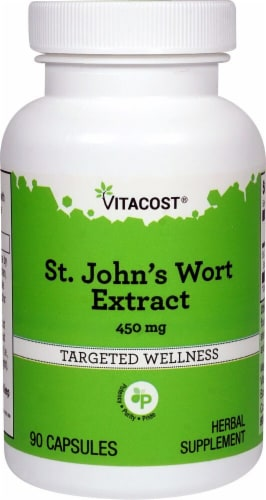 Vitacost  St. John's Wort Extract Perspective: front