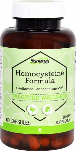 Vitacost Synergy Homocysteine Formula Dietary Supplement Perspective: front