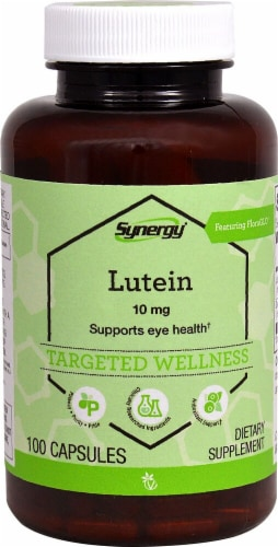 Vitacost  Synergy Lutein Featuring FloraGLO® Perspective: front