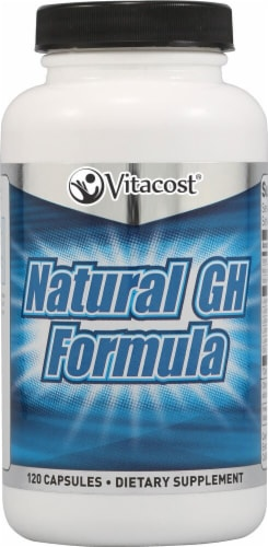 Vitacost Natural GH Formula Capsules Perspective: front