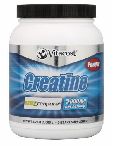 Vitacost  Creatine Powder Creapure® Perspective: front