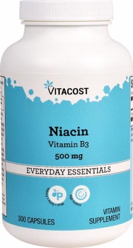 Vitacost Niacin Vitamin B-3 Perspective: front