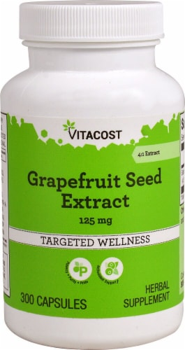 Vitacost  Grapefruit Seed Extract Perspective: front