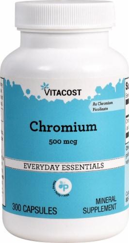 Vitacost Chromium as Chromium Picolinate Perspective: front