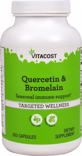 Vitacost  Quercetin & Bromelain Perspective: front