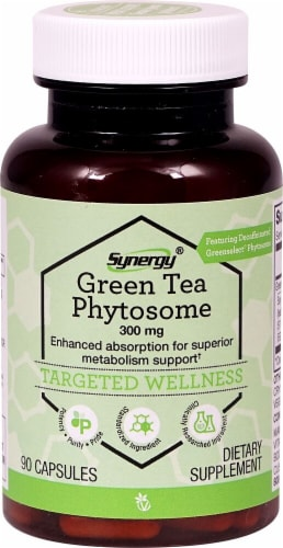 Vitacost Synergy Green Tea Phytosome Perspective: front