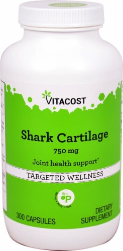Vitacost Shark Cartilage Perspective: front