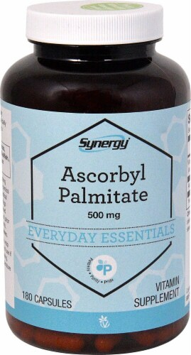 Vitacost Synergy Ascorbyl Palmitate Perspective: front