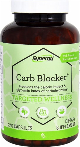 Vitacost  Synergy Carb Blocker† With Phase 2® Perspective: front