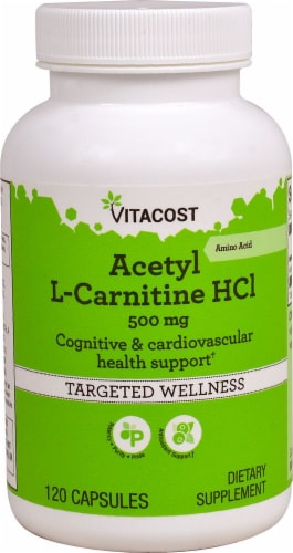 Vitacost  Acetyl L-Carnitine HCl Perspective: front