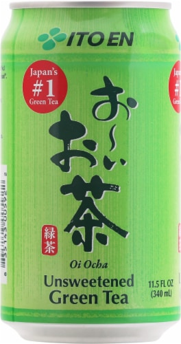 Ito En Unsweetened Green Tea Perspective: front