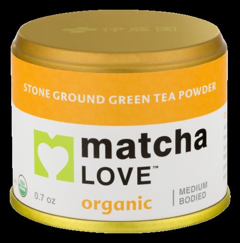 Matcha Love Organic Green Tea Perspective: front