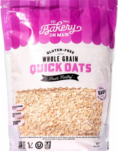 Bakery on Main Gluten Free Quick Oats Perspective: front