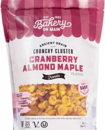 Bakery On Main  Gluten Free Granola   Nutty Cranberry Maple Perspective: front