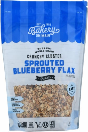 Bakery On Main Sprouted Blueberry Flax Granola Perspective: front