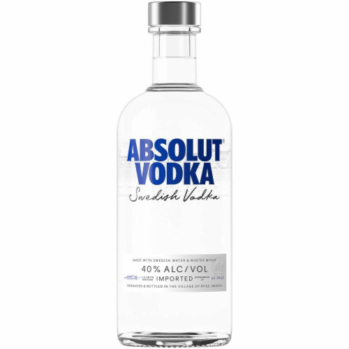 Absolut Original Vodka Perspective: front