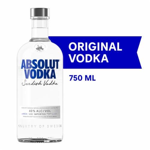 Absolut Original Vodka Perspective: front