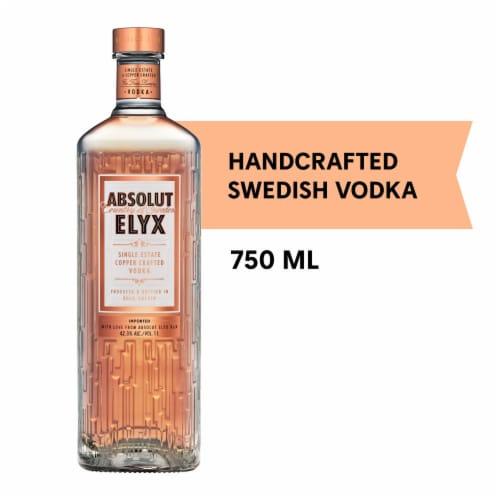Absolut Elyx Vodka Perspective: front