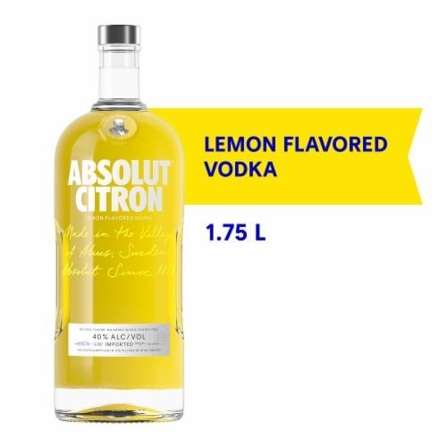 Absolut® Citron Vodka Perspective: front