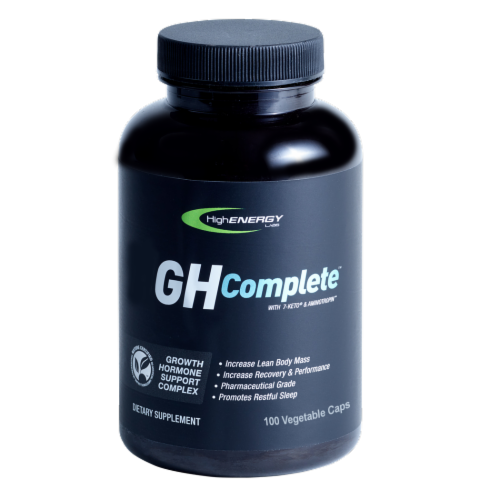 High Energy Labs Growth Hormone Support Complex Perspective: front