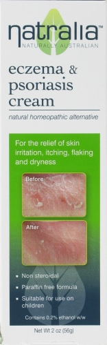 Natralia Eczema & Psoriasis Cream Perspective: front