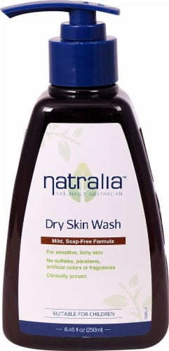 Natralia  Dry Skin Wash Perspective: front