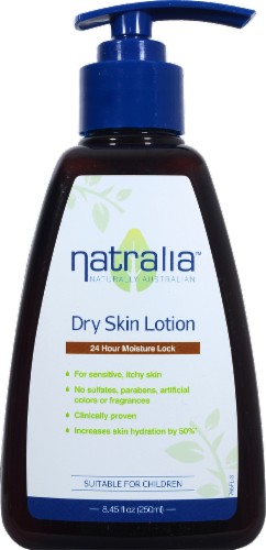 Natralia Dry Skin Lotion Perspective: front